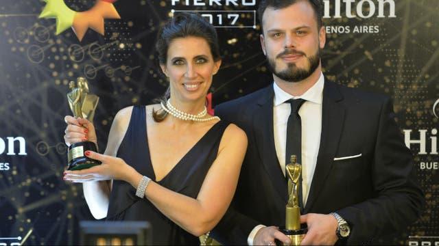 Luciana Geuna e Ignacio Otero, premiados