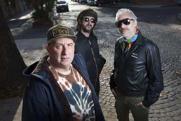 Javier Zuker, Leandro Lopatín y Fabián Picciano, los señores Poncho