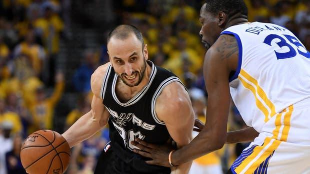 Los Spurs de Ginóbili sufrieron su cuarta derrota consecutiva ante los Warriors