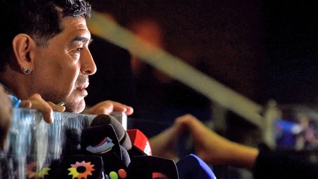 Diego Maradona y un manual repleto de frases