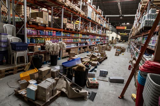 Varios supermercados fueron saqueados y destrozados. Foto: LA NACION / Aníbal Greco