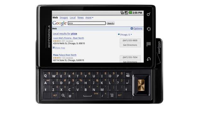 El Motorola Milestone fue el primer Android en venderse en la Argentina, en 2009