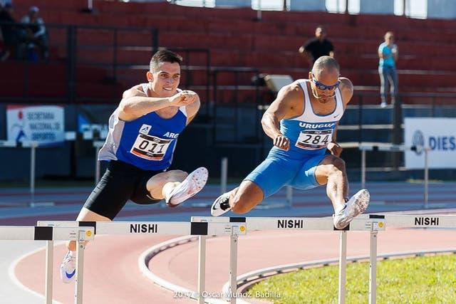 Guillermo Ruggeri, oro en los 400 metros con vallas