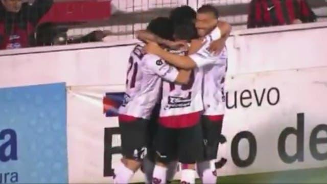 El festejo del equipo de Paraná