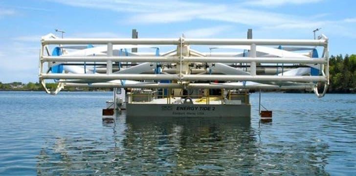 TidGen System en la bahía de Fundy.