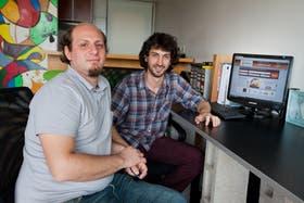 Daniel Polizzi y Gustavo Canevsky, de Relivery
