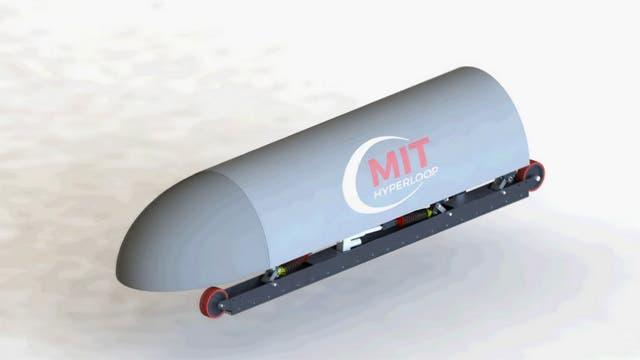 En total, participaron en el concurso 160 equipos para diseñar las cápsulas del Hyperloop