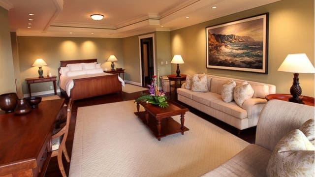 Por dentro, la casa en la que la familia Obama disfruta unos días íntimos durante el invierno. Foto: TopTenRealEstate.com