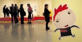 Grandes y chicos pueden disfrutar de la muestra Mundos para mirar que exhibe las obras de 57 artistas que ilustran libros para niños