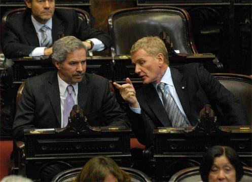 La oposición se presentó puntualmente, y sin la presencia del oficialismo ya había quórum. Foto: Télam