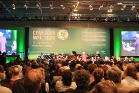 Conferencias internacionales, como el Congreso Forestal Mundial, tuvieron a Buenos Aires como sede