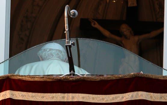 La última foto pública de Benedicto XVI como Papa. Foto: AP