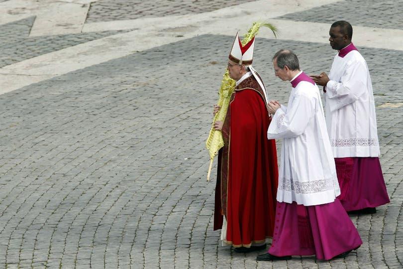 """Francisco destacó pecados personales como """"la falta de amor y de respeto a Dios, al prójimo ya toda la creación"""". Foto: AFP"""