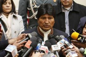 Evo Morales explicó los alcances de la demanda contra Chile en La Haya