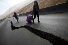 En Chile. En el último sismo que afectó a Iquique, las evacuaciones fueron ordenadas y hubo pocas víctimas