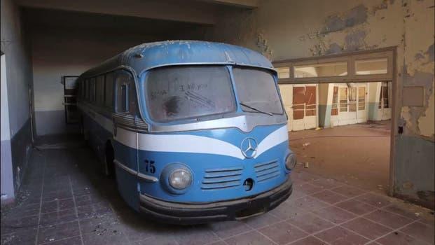 Las instalaciones de los hoteles, con marcado deterioro. Foto: LA NACION