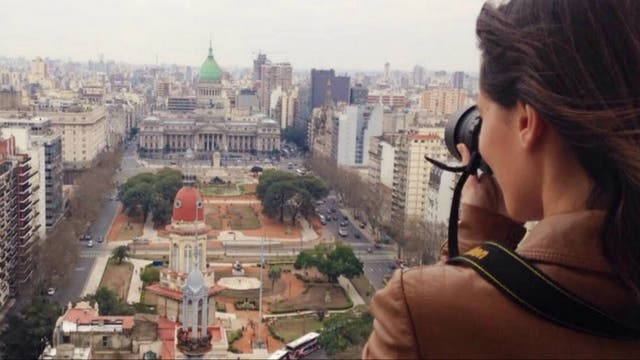 Vista desde el Palacio Barolo, Monserrat. Foto: Cynthia Martínez Wagner