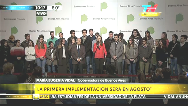 Gracias, Vidal: Boleto estudiantil gratuito