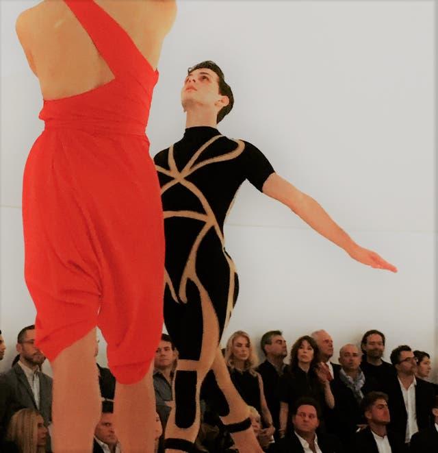 Coreografía de Pam Tanowitz en el Faena Forum
