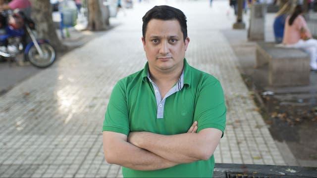 Pablo Fracchia tiene 33 años y trabajó hasta enero en el Ministerio de Seguridad; fue despedido aunque nunca le enviaron el telegrama