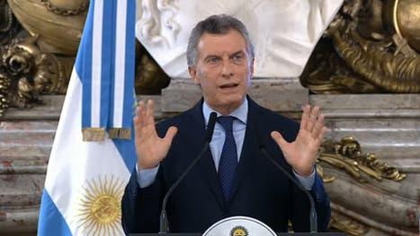 Mauricio Macri convocó a una conferencia de prensa en la Casa Rosada