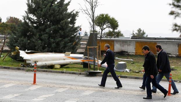 Helicóptero se estrelló en Estambul, matando a todos a bordo