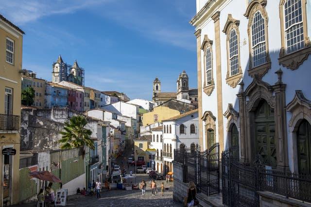 El casco histórico de Salvador reúne iglesias, preciosos bares y antiguas casonas coloniales
