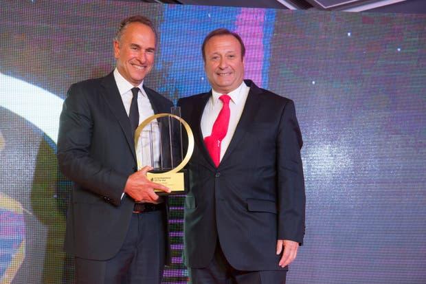 Marcelo Mindlin, presidente de Pampa Energía, recibió el premio al Emprendedor del Año de la consultora y auditora EY