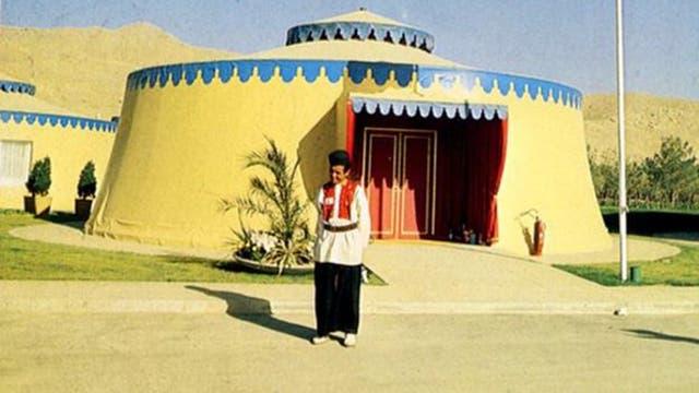 """Cada carpa era como una """"pequeña casa"""" diseñada y decorada por especialistas."""