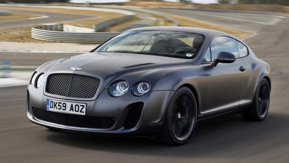El Bentley Continental Supersports, otra joya inglesa. Foto: bentleymotors.com
