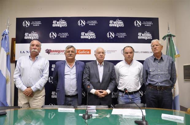 Enrique Santos, Gabriel Tortarolo, Norberto Frigerio, Víctor Navajas e Iván O'Farrell