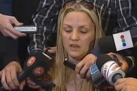 Carolina Píparo al declarar hoy en conferencia de prensa