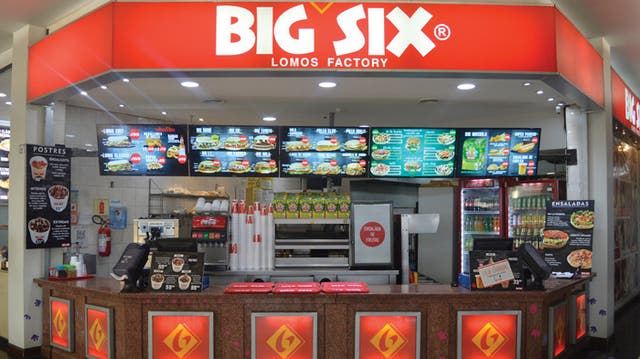 Big Six, un fast food oriundo de Bahía Blanca
