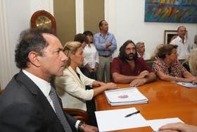 Daniel Scioli, meses atrás, estuvo al frente de la resolución del conflicto docente.