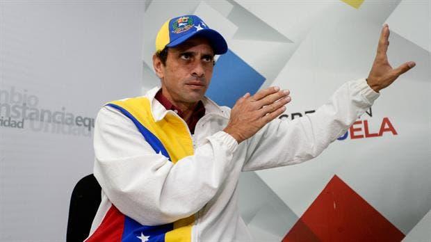 Henrique Capriles no pudo viajar a Nueva York