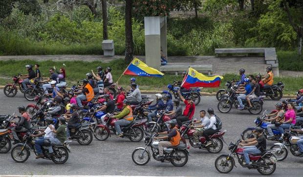 Miembros chavistas de la Asamblea Constituyente, ayer, en Caracas