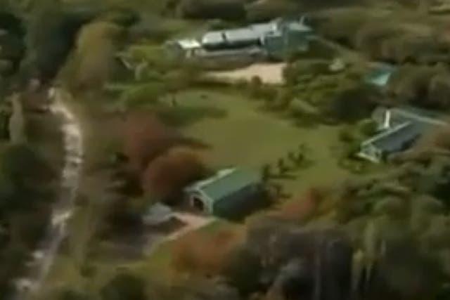 La casa de Máximo Kirchner