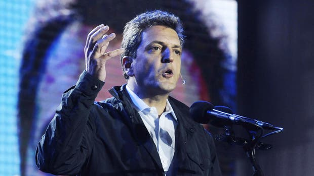 El candidato a senador nacional por 1País, Sergio Massa, contestó con una negativa al pedido de Cristina Kirchner