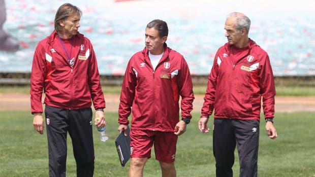 La selección de Perú volvió a los entrenamientos