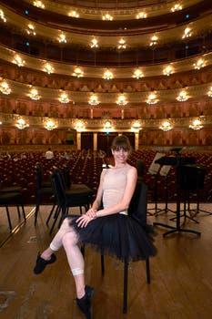 En la sala mayor del Colón, donde en diciembre el Muzyca y el Ballet Estable estarán presentando El cascanueces. Foto: LA NACION / Hernán Zenteno