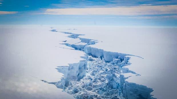 Cuál podría ser el recorrido del iceberg y cuándo llegaría a aguas argentinas