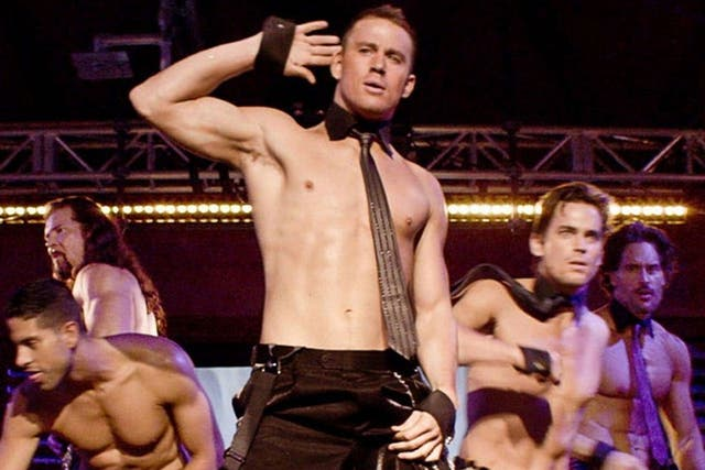 Una de las escenas de Magic Mike, con Channing Tatum a la cabeza