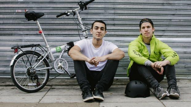 Tarek Zaki (21) y Franco Goytia (22)