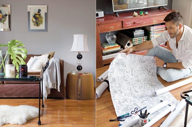 Cómo decorar un depto de menos de 50m2   living   espacio living
