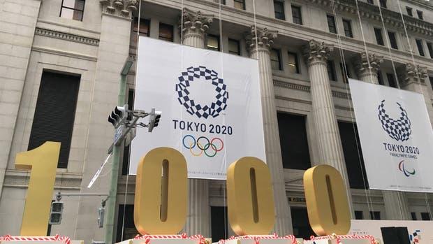 Tokio 2020 ya cuenta para atrás desde 1000