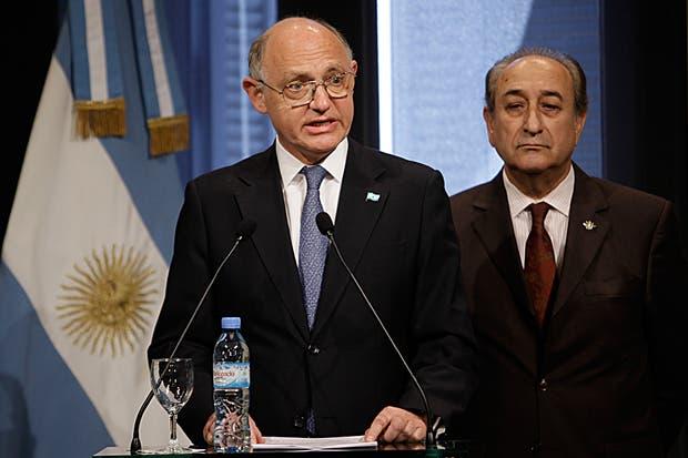 Timerman y Puricelli hablaron en la Casa Rosada sobre el conflicto con la Fragata Libertad