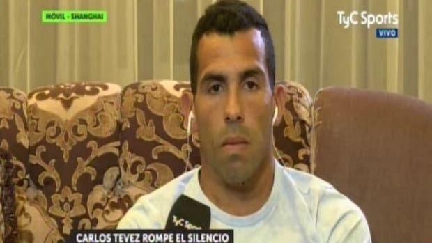 Tevez rompió el silencio en TyC Sports