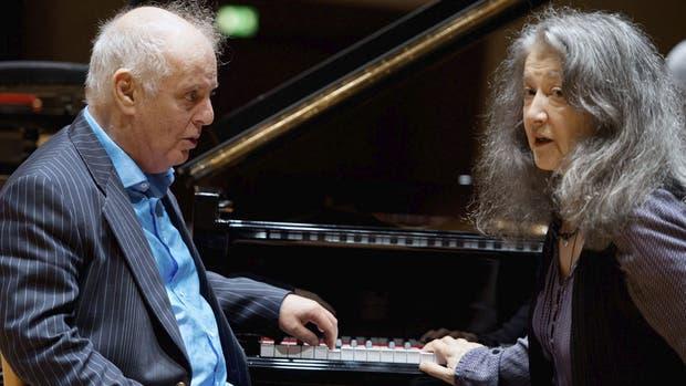 Barenboim y Argerich ofrecerán un concierto gratuito