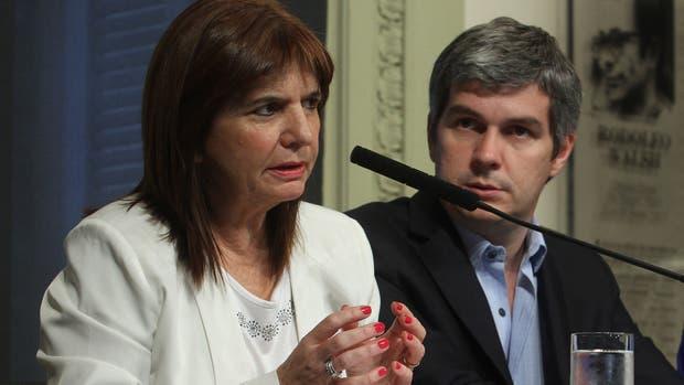 Patricia Bullrich anticipó que el Gobierno actuará con toda la fuerza contra el narcotráfico