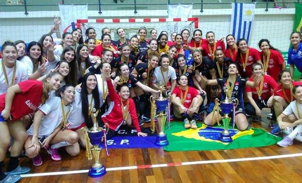 El podio del Panamericano